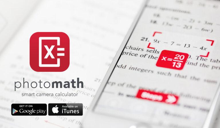 كاميرا هاتفك تحل المعادلات الرياضية